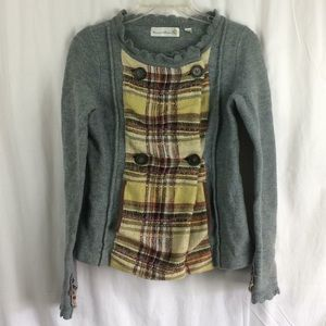 Anthropologie Charlie & Robin Wool Jacket